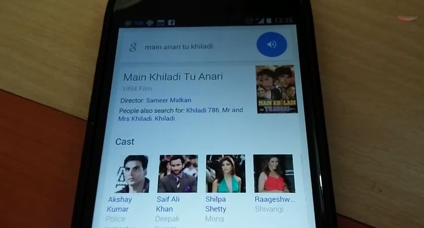 Google Now Starts Understanding Hindi / Hinglish Voice Searches [Video]