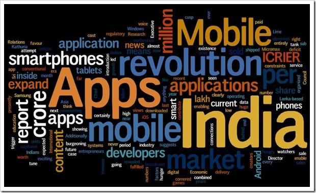 Mobile app revolution Indai