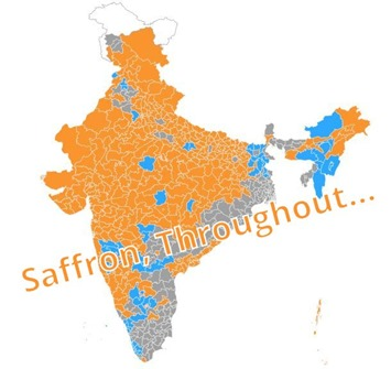 BJP Saffron winners