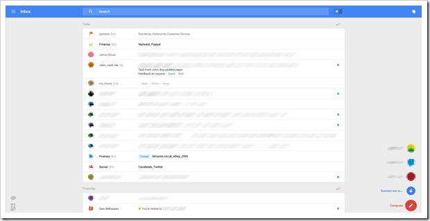 Gmail New layout2