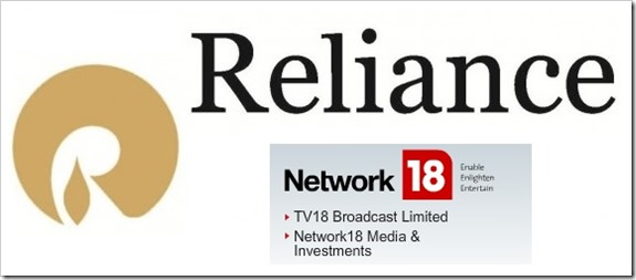 REliance Network18 acquisition