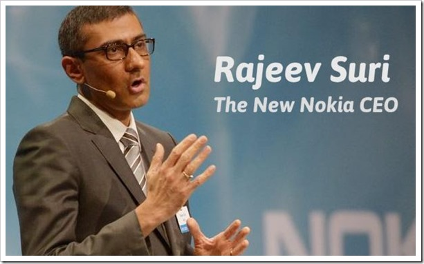 Rajiv Suri New Nokia CEO-001
