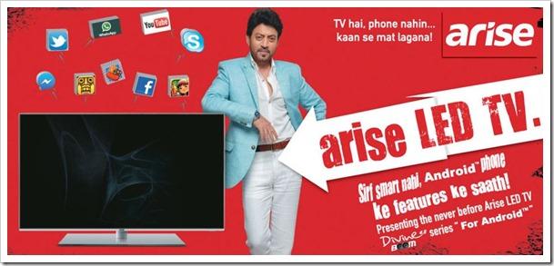 Arise India Android LED TV
