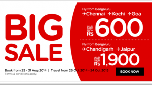 Domestic Airfare War Resumes – Air Asia And SpiceJet Announces Huge Discount Offers