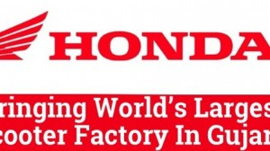 Honda Bringing World's Largest Scooter Factory In Gujarat