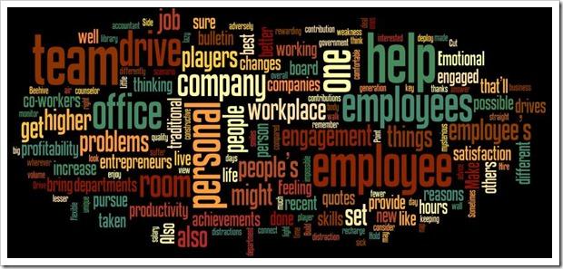 Managing engaging Employees