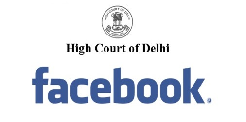 Delhi High Court Facebook