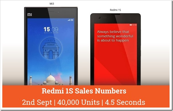 MI 3 Redmi s booking