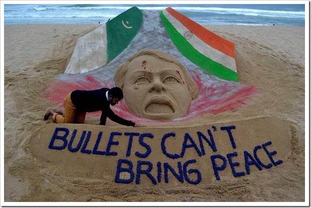 Bullets cant bring peace