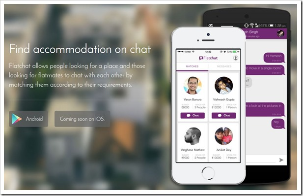 Flatchat App Makes Finding Roommates & Flats Super Easy