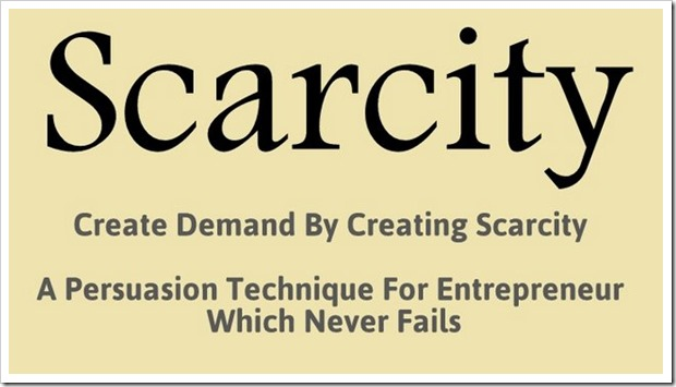 Create Demand By Creating Scarcity: A Startup Success Hack That Never Fails