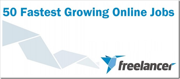 Fastest growing online jobs