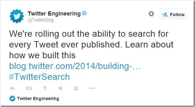 Twitter engineering
