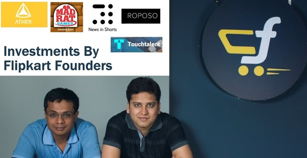 Investment By Flipkart Founders
