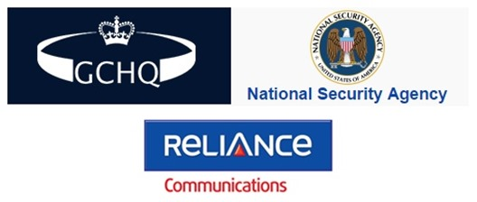 Reliance Undersea Cables Were Hacked By UK Spy Agency GCHQ With Help of NSA!