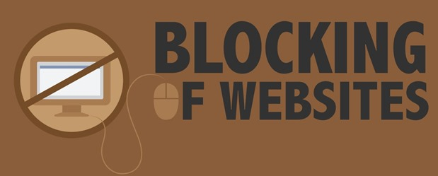 Blocking of Websites Image