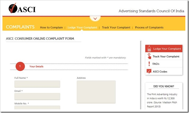 Fed Up of Misleading & False Ads? Now, You Can Stop Them By Filing Complaint Online