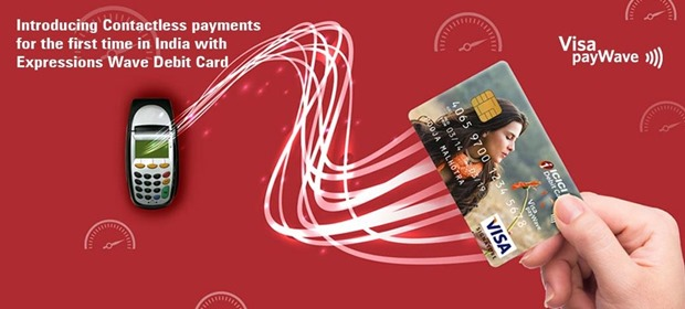 ICICI Bank Brings PayWave NFC Cards For Contactless Payments
