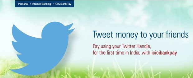 ICICI Launches Twitter Banking Services. Allows Funds Transfer & More Through Twitter!