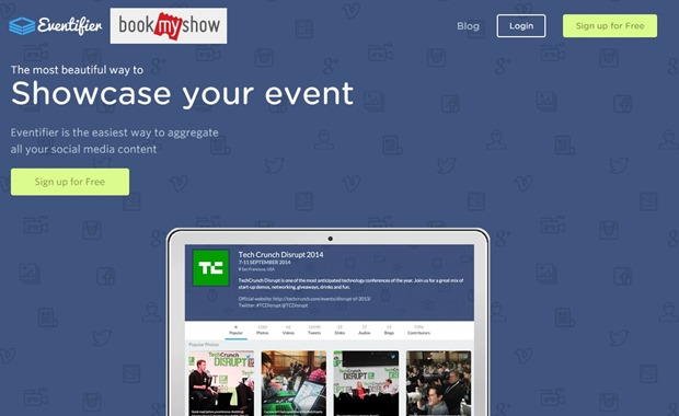 Bookmyshow eventifier