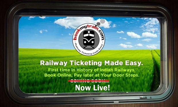 IRCTC Cash on Delivery Ticket Bookings