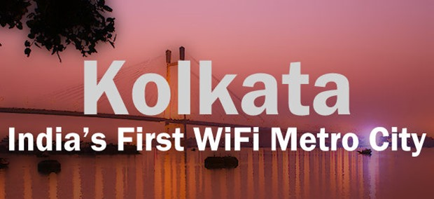 Kolkata Becomes India's First WiFi Metro City