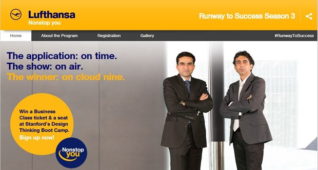#RunwaytoSuccess By Lufthansa Wants To Discover, Mentor & Reward Entrepreneurs In India