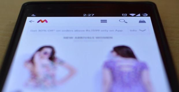 Myntra Mobile App Mobile Shopping