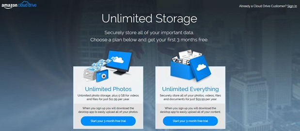 Unlimited Storage