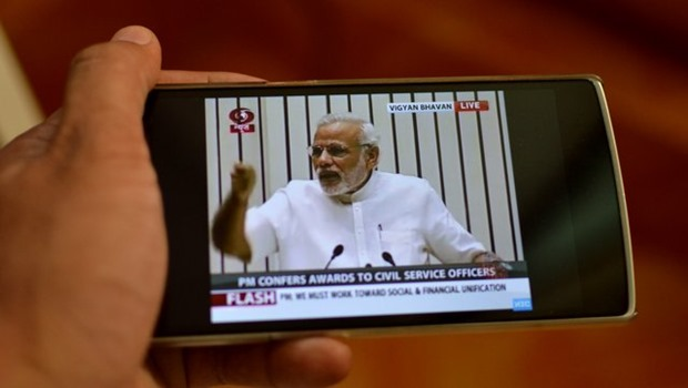 Doordarshan TV on Smartphone