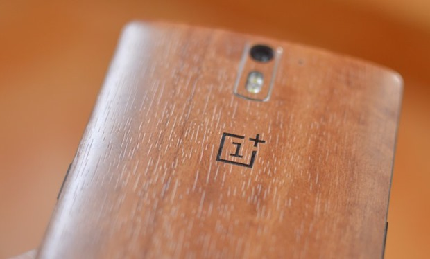 OnePlus One Back Logo Wooden CM12S Update