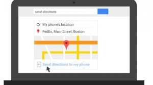 Now Directly Send Directions, Notes Or Set Alarm From PC To Android Device Through Google Search