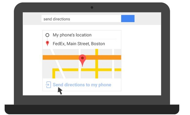 Send Directions to Phone