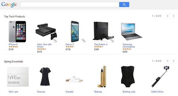 Google Products Shopping