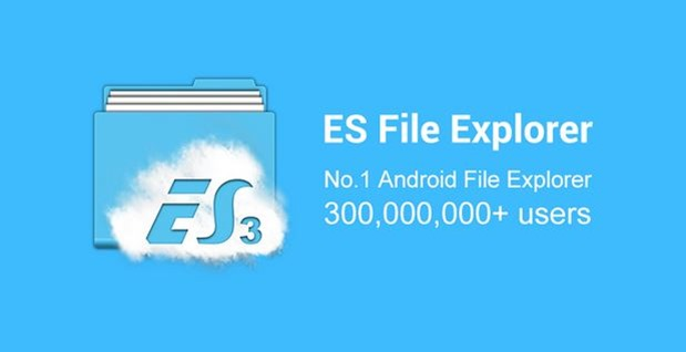 ES File Explorer Header