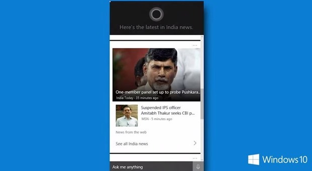 Cortana For Windows 10 Is Coming To 7 More Countries Including India With Local Customizations.