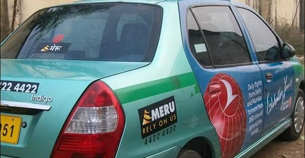 Meru Cabs Car