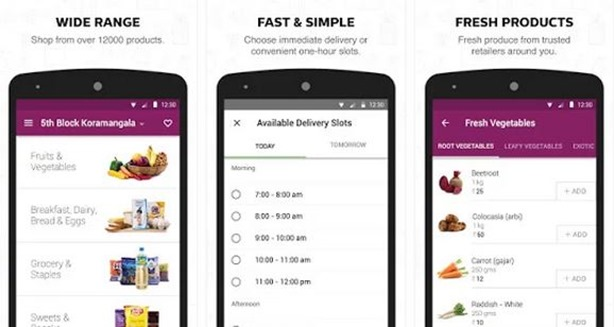 Ola Store Grocery App