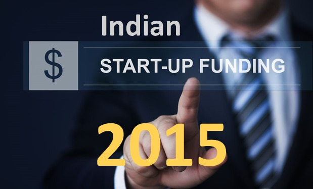 Indian Startup Funding And Investment Chart [2015]