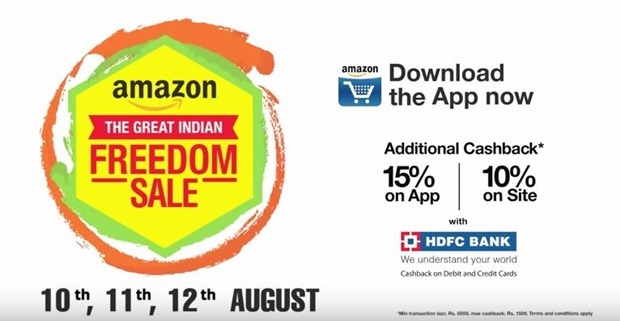 Amazon Great Indian Freedom Sale