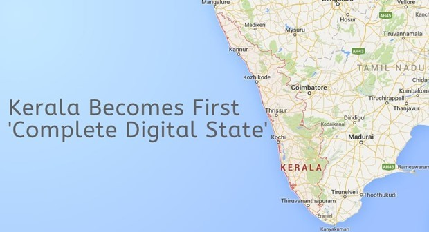 Kerala First Digital State