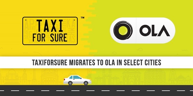 Brand TaxiForSure Almost Dead Now; Shuts Down Operation Across 22 Cities After Ola Integration