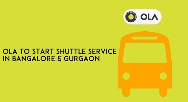 Ola Launching Bus Shuttle Service In Bangalore and Gurgaon [Full Details]