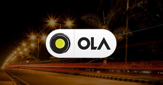 Ola Cabs screenshot