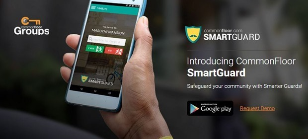 CommonFloor Launches Smart Guard App For Gated Communities
