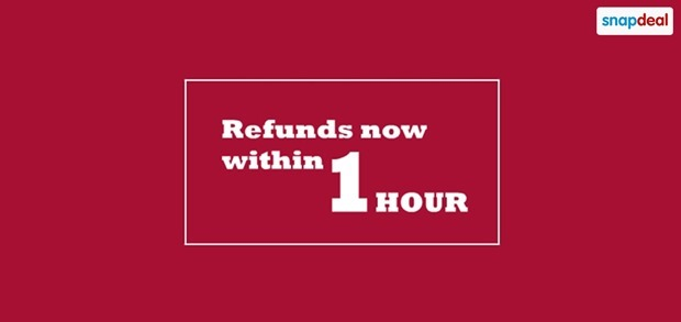 Snapdeal-Refund-within-1-hour