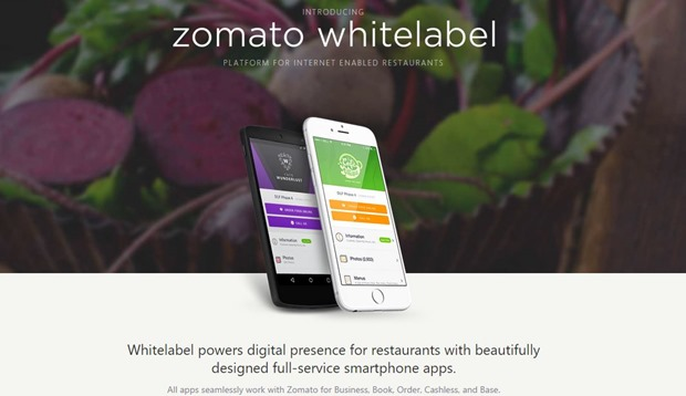 Zomato Launches Whitelabel, A Subscription Platform For Restaurants To Build Native Apps
