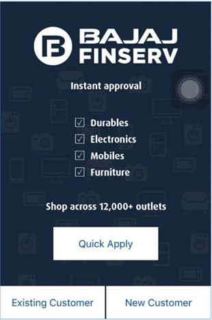 Bajaj Finserv Quick Apply