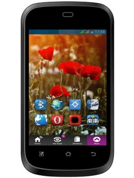 This is the most feature rich phone in this list. It is a dual SIM device  with a 3.2 megapixel camera and a flash that can also be used as a torch.
