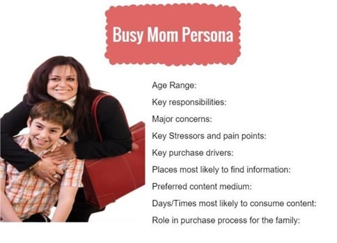 Busy Mom Buyer Persona